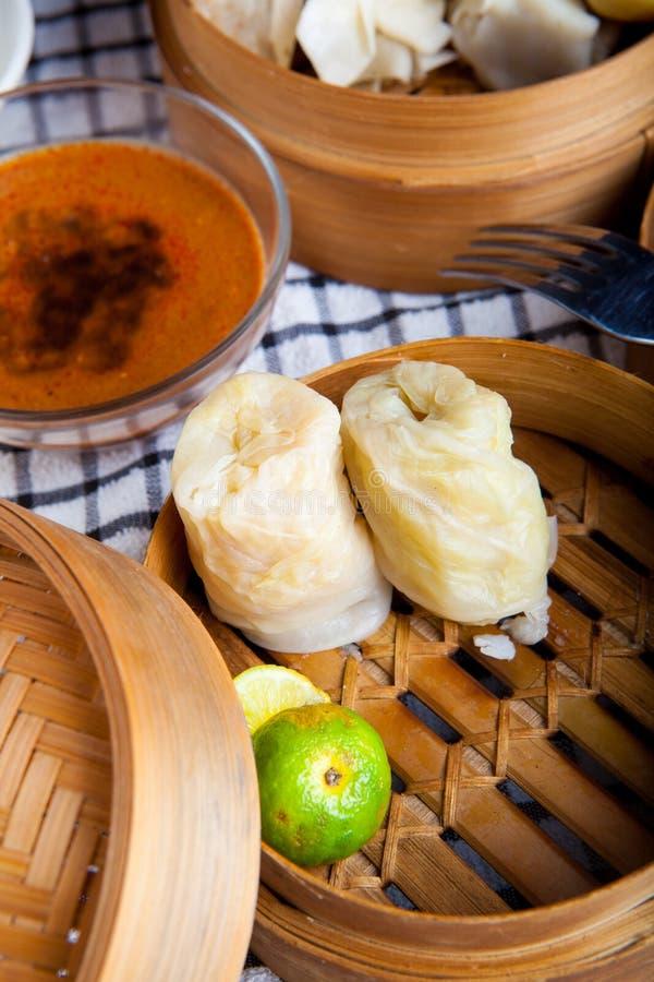 Индонезийская еда Kol Baso Tahu Бандунг стоковое изображение rf