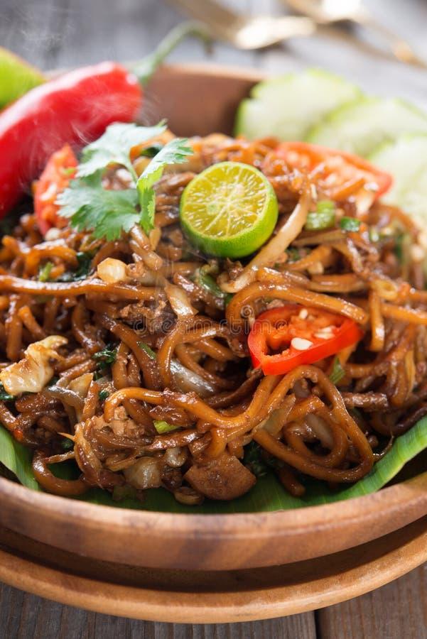 Индонезийская и малайзийская кухня стоковое изображение rf