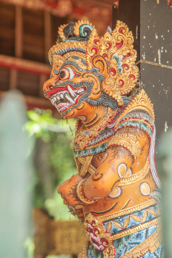 Индонезийская статуя стоковое изображение