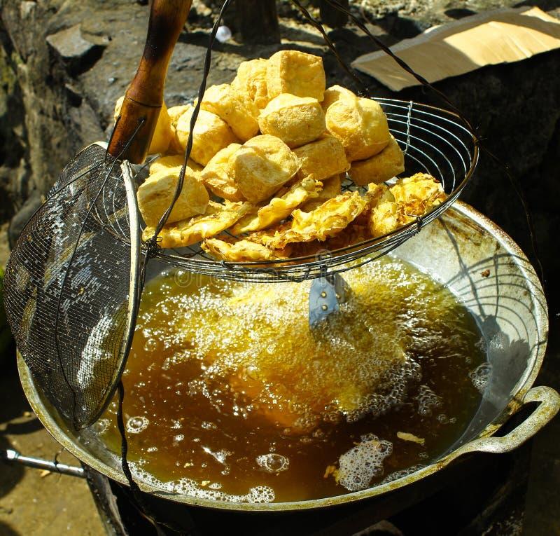 Индонезийская традиционная еда стоковые изображения rf