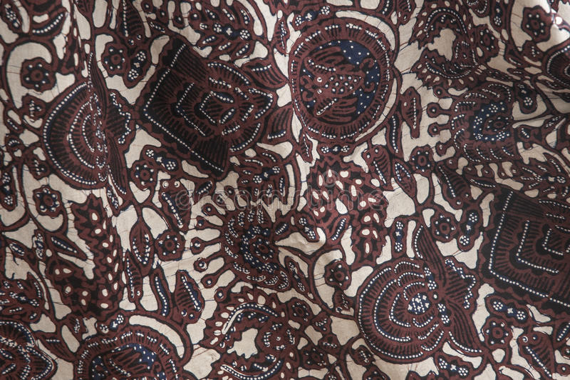 Индонезийские батики стоковое фото