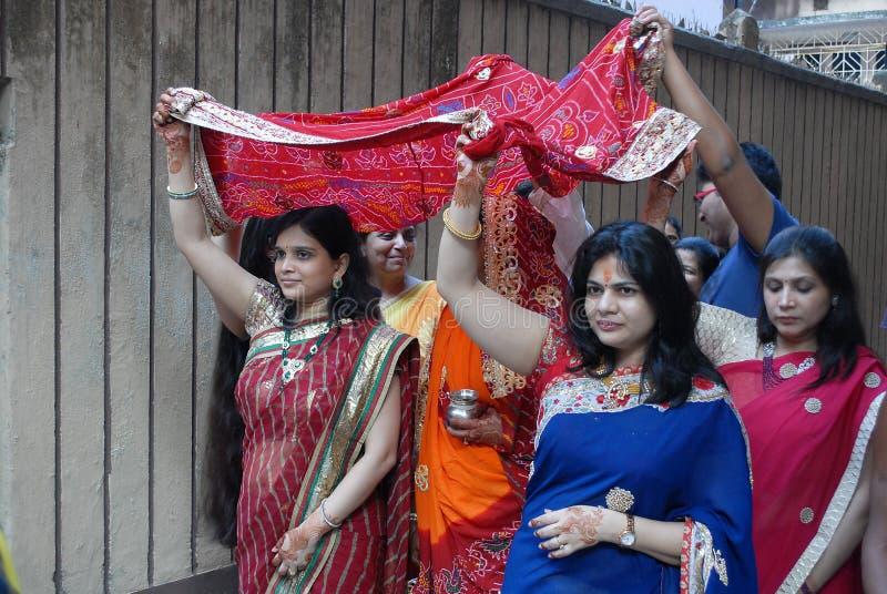 индусские ритуалы стоковое изображение