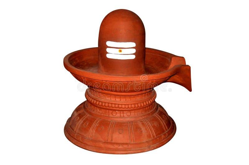 Индусский бог Siva Linga стоковое изображение rf