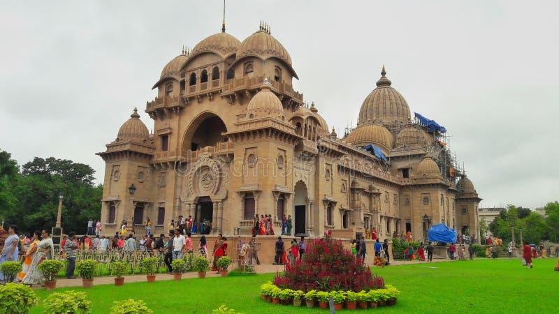Индусский висок Kolkata, Индии стоковые изображения rf
