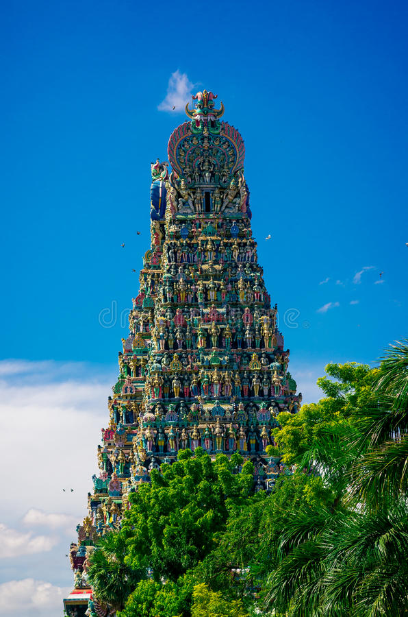 индусский висок meenakshi madurai стоковые изображения