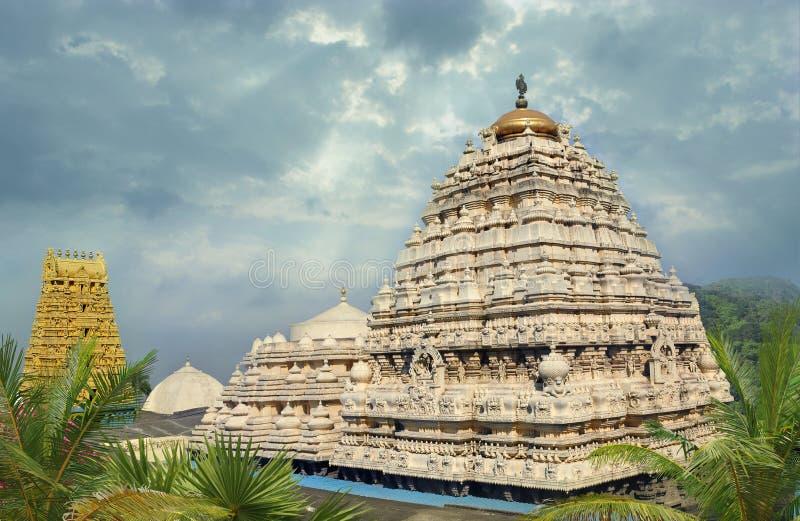 Индусский висок Narasimha стоковое изображение rf