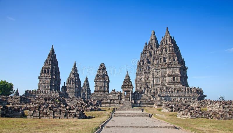 Индусский висок Prambanan стоковые изображения rf