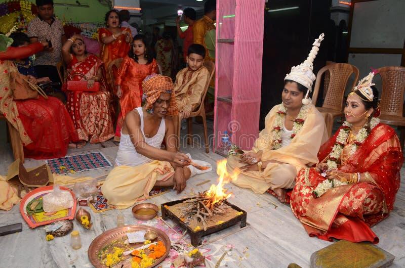 Индусский священник стоковое фото