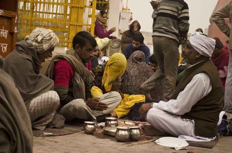 Индусское Puja стоковые изображения