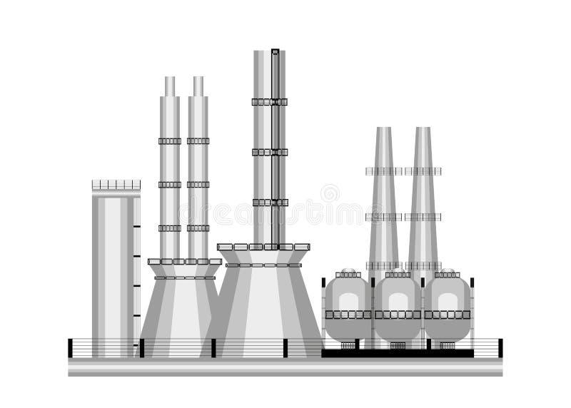 Индустрия значка иллюстрация штока