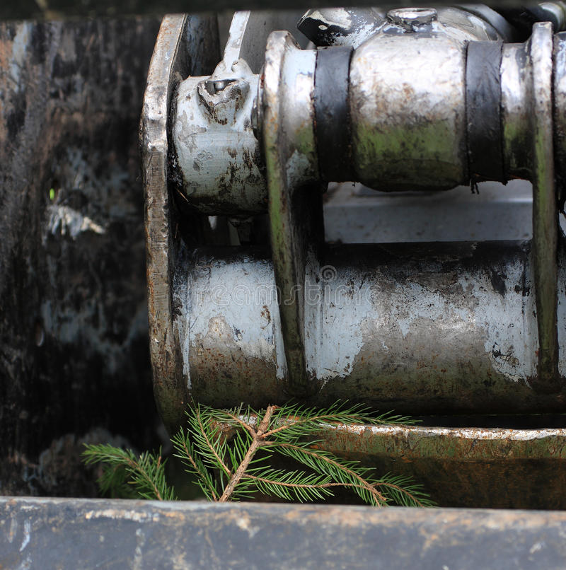 Индустрия тимберса стоковое фото rf