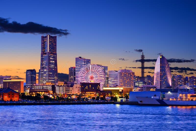 Иокогама, городской пейзаж Японии стоковые фото