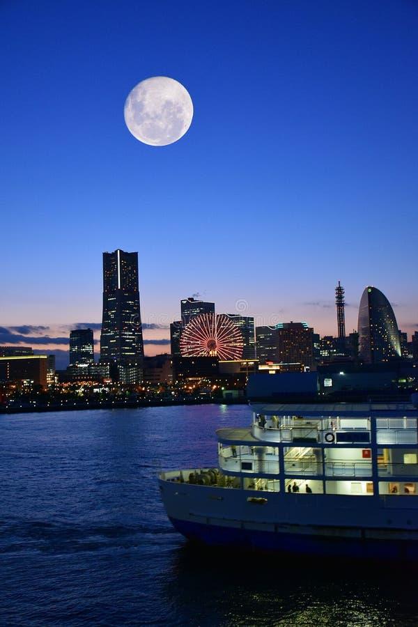 Иокогама, городской пейзаж Японии стоковые фотографии rf