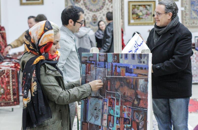 Иранские дни культуры стоковая фотография rf