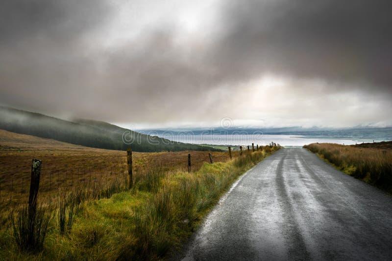 Ирландский зазор горы стоковое изображение rf