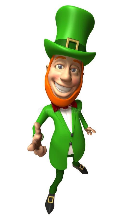 ирландский leprechaun иллюстрация вектора