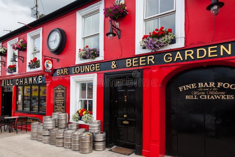 ирландский pub стоковое изображение