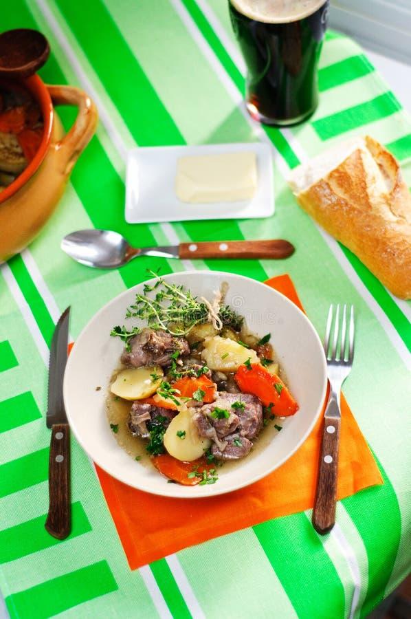 ирландский stew стоковые изображения