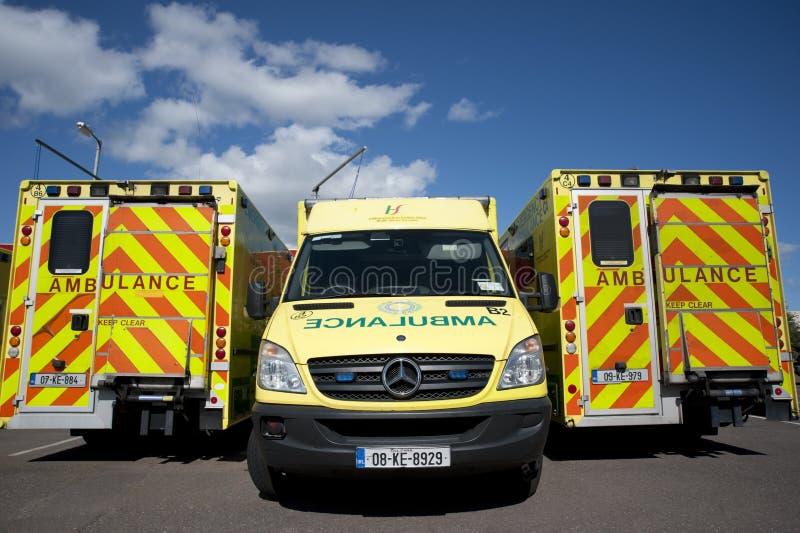 Ирландское обслуживание машины скорой помощи стоковая фотография