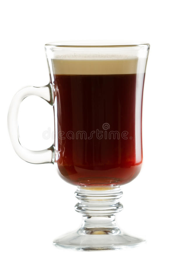 Ирландский кофе стоковое изображение rf