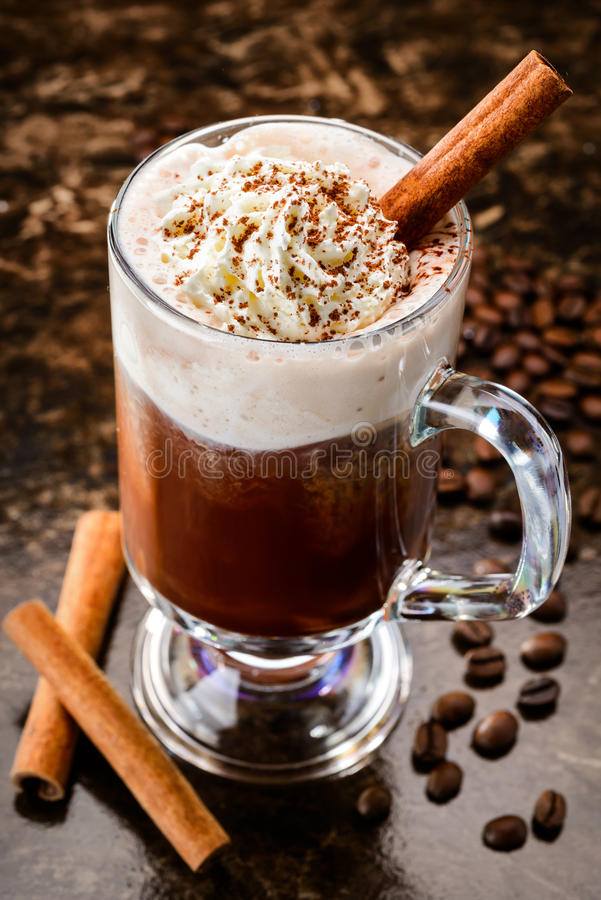 Ирландский кофе стоковая фотография rf