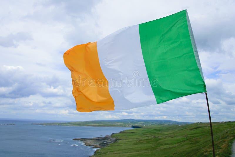 Ирландский флаг стоковые изображения rf