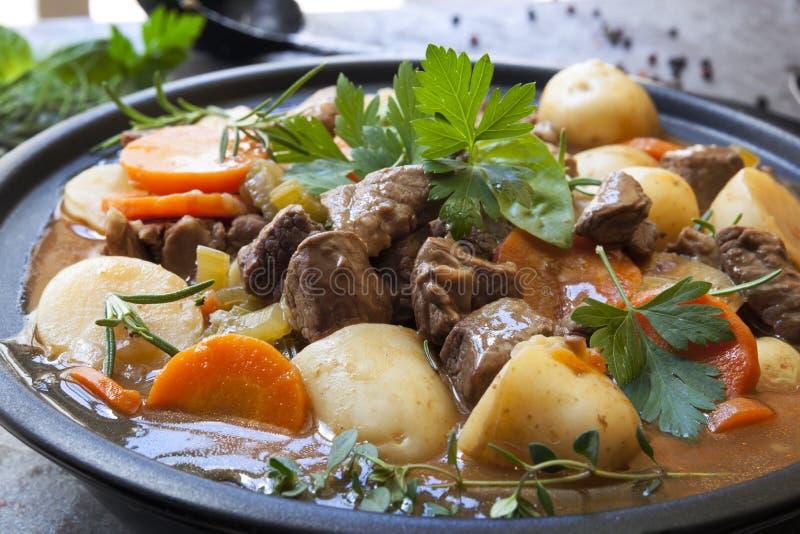 Ирландское тушёное мясо стоковое фото