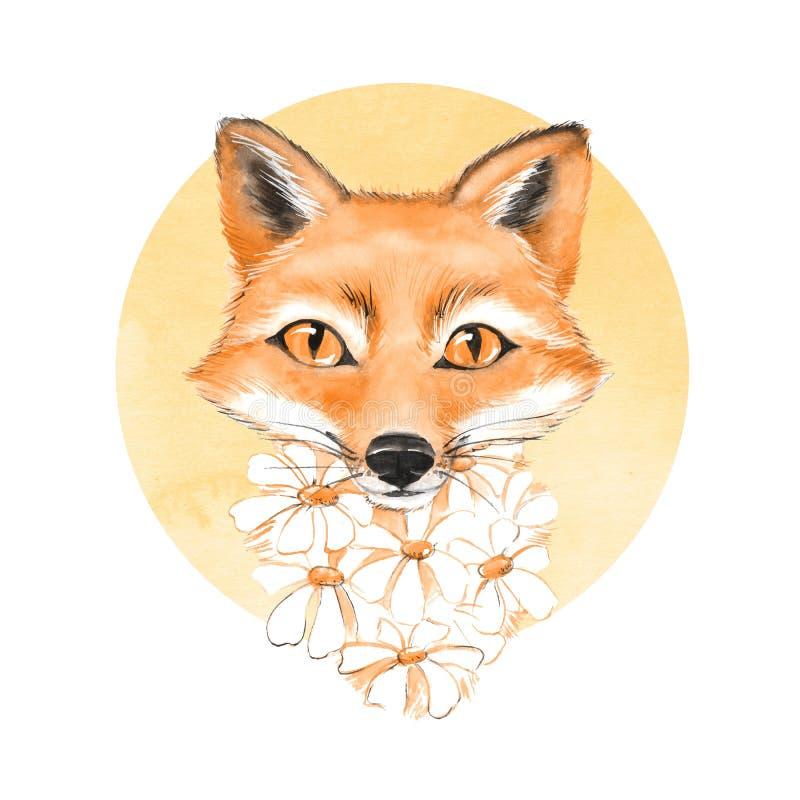 лисица милая иллюстрация бесплатная иллюстрация