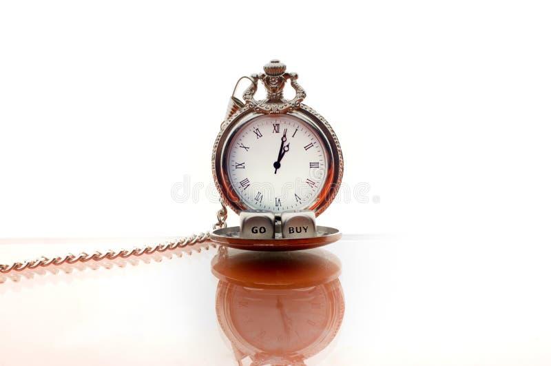 Исключительная винтажная студия часов стоковое фото