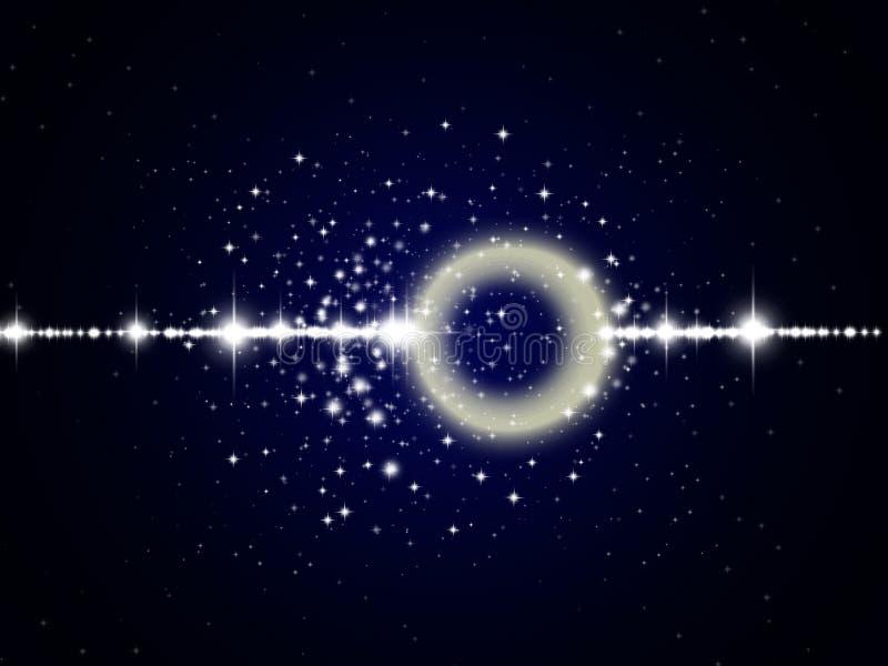 Космос с звездами бесплатная иллюстрация