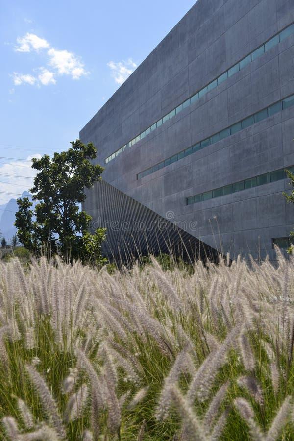 Искусства и здание архитектуры в университете  Монтеррея мимо стоковое фото