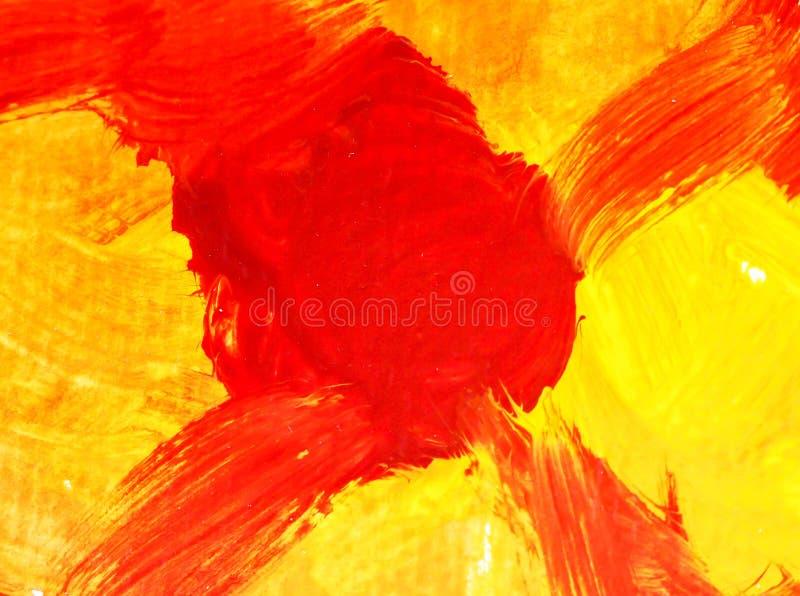 Искусства конспекта предпосылки картины цвета мочат acrylic стоковые изображения rf