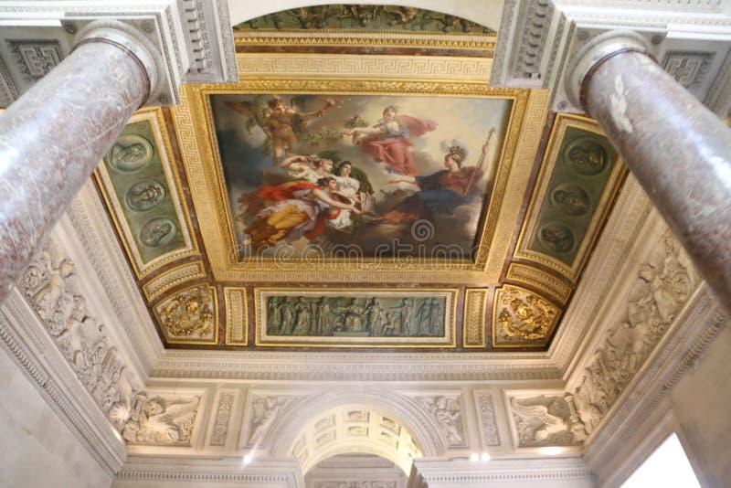 Искусства Лувра стоковые фото
