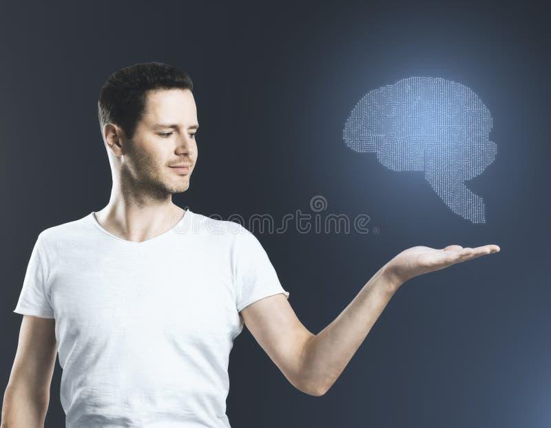 Искусственная концепция разума стоковое изображение rf