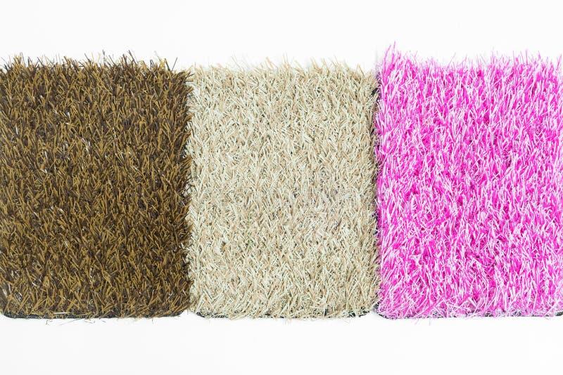 Искусственная текстура травы стоковые изображения