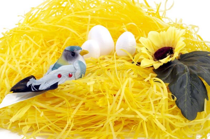 Искусственные птицы стоковая фотография rf