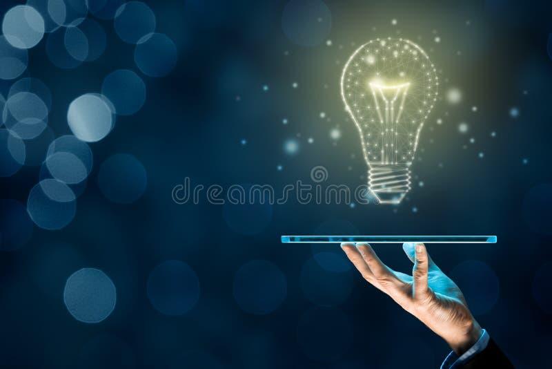 Искусственный интеллект на цифровом планшете