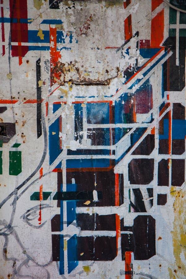 Искусство брызга, современное искусство стоковые изображения rf