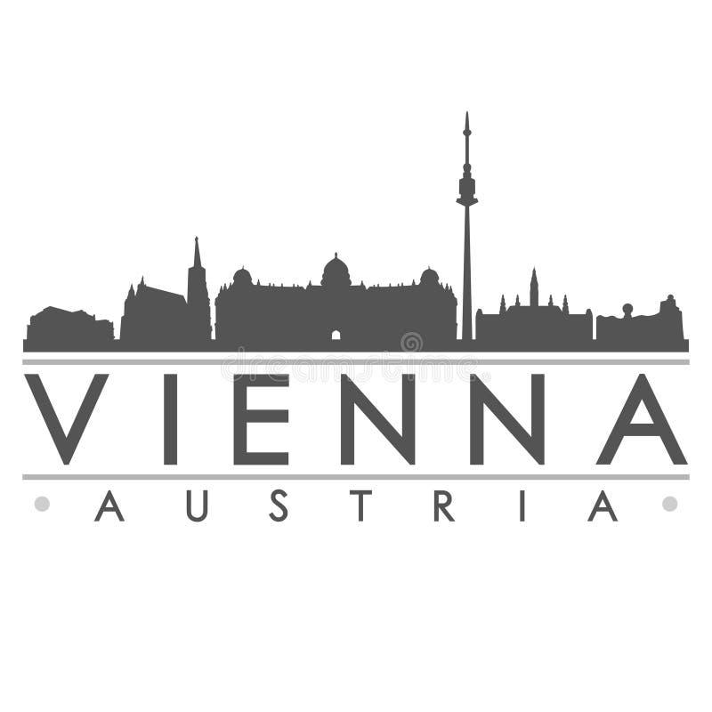 Искусство вектора города дизайна силуэта вены бесплатная иллюстрация