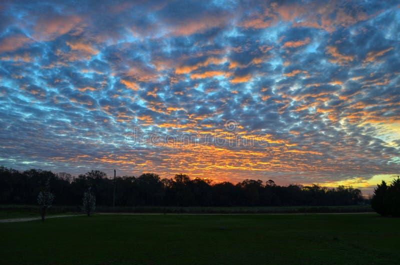 Искусство восхода солнца стоковое изображение