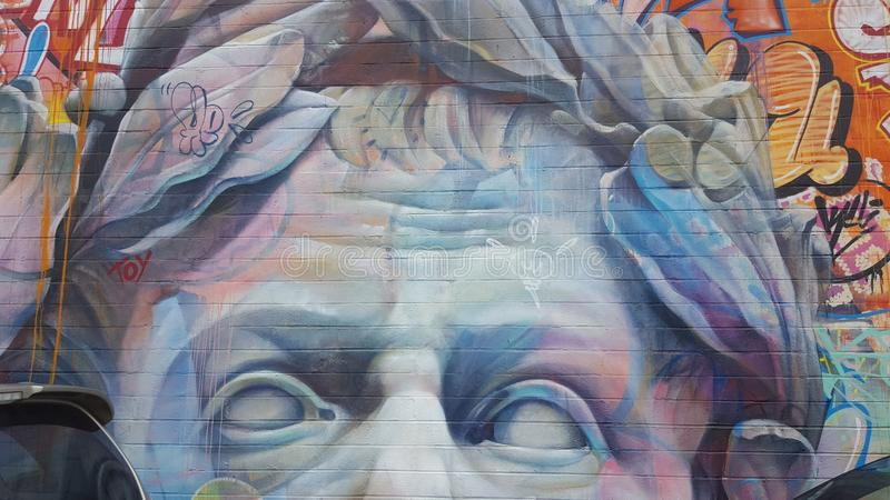 Искусство Гонолулу улицы стоковая фотография