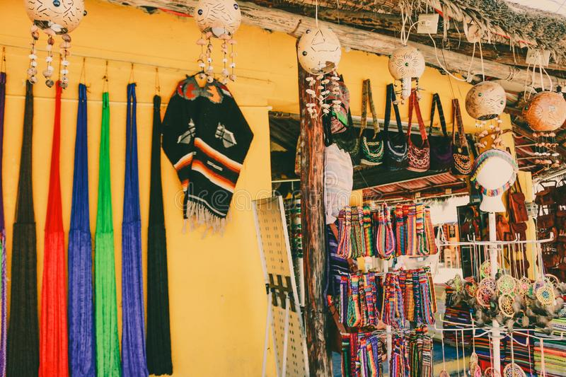 Искусство и культура мексиканской улицы красочное стоковое изображение rf