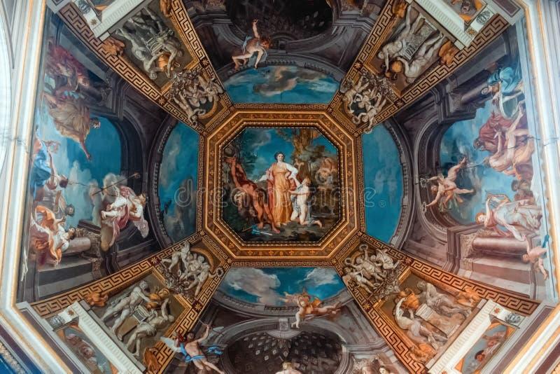 Искусство музея Ватикана стоковые изображения