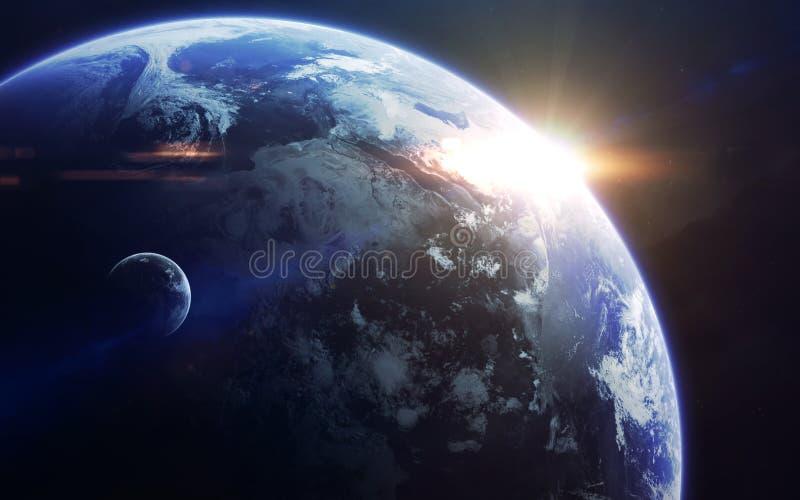 Искусство научной фантастики Красота глубокого космоса Элементы этого изображения поставленные NASA стоковое фото rf