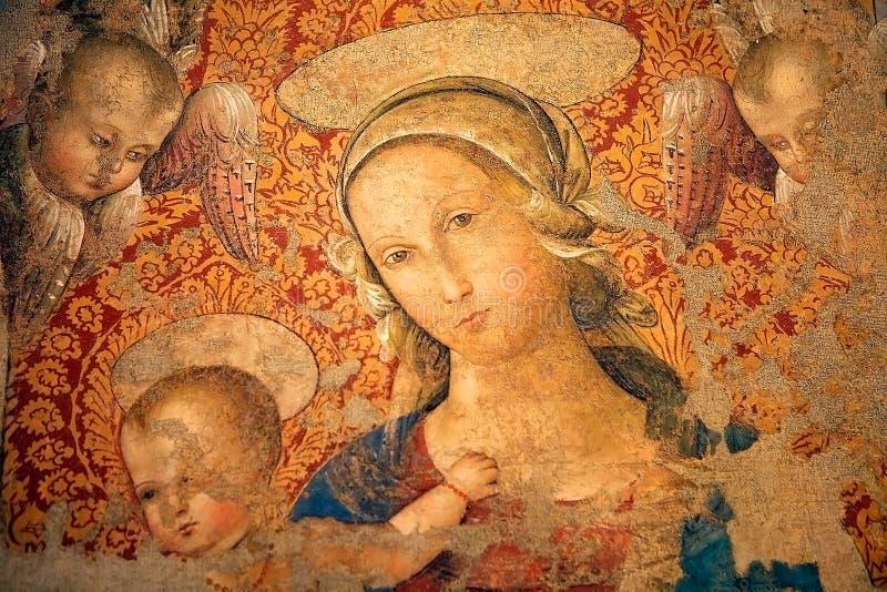 Искусство от Assisi, Умбрии, Италии стоковые фотографии rf