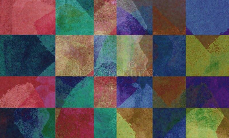 Искусство предпосылки цифров сделанное с коллажем фото иллюстрация вектора
