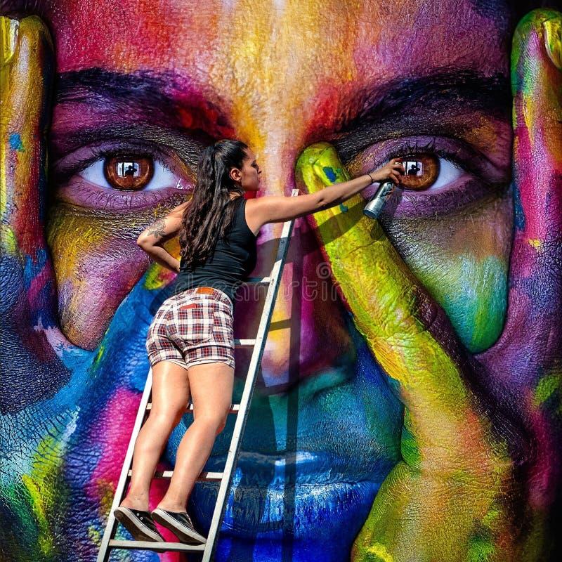 Искусство, пурпур, современное искусство, картина