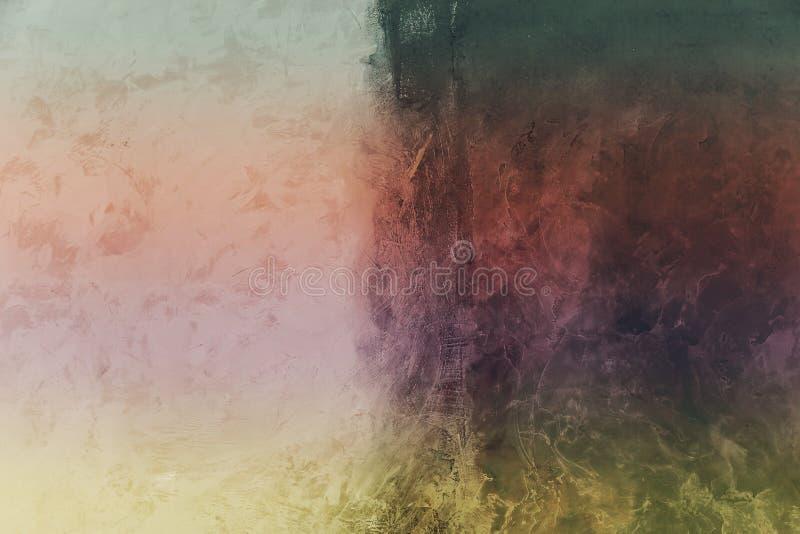 искусство самомоднейшее Современное искусство Художническая краска стены стоковое фото rf