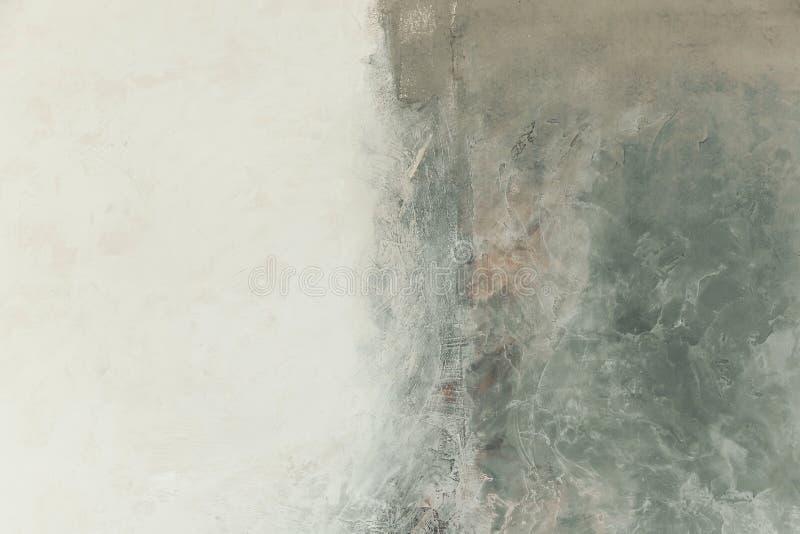 искусство самомоднейшее Современное искусство Художническая краска стены стоковые изображения