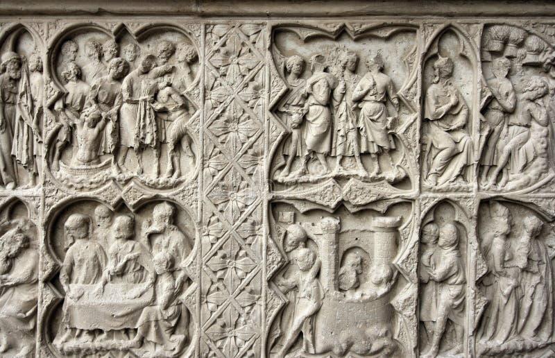 искусство средневековое стоковое изображение